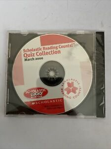 Scholastic Reading Counts Quiz Collection March 2000 CD-ROM