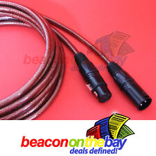 5M Australian Made DMX Cable 3 Pin XLR Male to Female Double Shield Short Proof