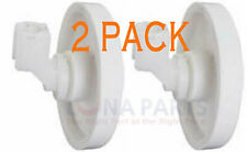 New listing 2 Pack New 154174401 Dishwasher Lower Rack Wheel & Clip Fits Frigidaire Kenmore