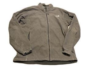 The North Face Fleece Jacket Size XL Gray Full Zip