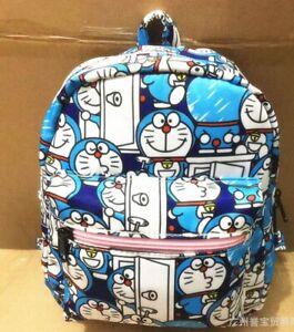 """doraemon blue 8.5"""" adult backpack kids satchel bags shoulder bag fashion"""