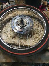 RALEIGH CHOPPER Mk1 rear wheel and rare herringbone tyre read listing