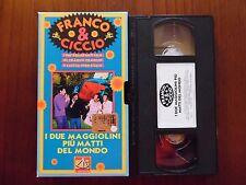 I due maggiolini più pazzi... (Franco Franchi, Ciccio Ingrassia) VHS De Agostini