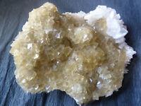 Dream Yellow  Fluorite  with Barite : traumhafter Gelber Fluorit mit Barit
