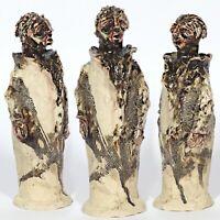 """Skulptur """"Der Satan von Allstedt"""" 23cm Unikat Keramik Andreas Loeschner-Gornau"""