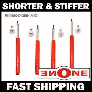 Mookeeh MK1 Performance Stiff Shorter Shocks Struts 4 Lowered 90-95 MR2 SW20