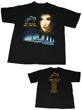 VTG Celine Dion Talk About Love Tour 1999 My Heart Will Go On Titanic T Shirt XL