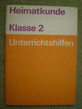 Unterrichtshilfen Heimatkunde 2. Klasse - DDR Schulbuch