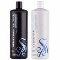 SEBASTIAN Professional Trilliance Shampoo 33.8 oz & Conditioner 33.8 oz Set