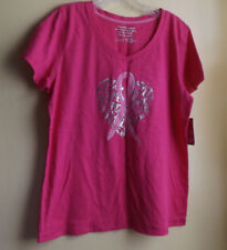 LIFE Ladies Breast Cancer Awareness Shirt  Size X-Large / NWT