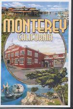 America Postcard - Monterey, California - Scenic Montage    RR3402