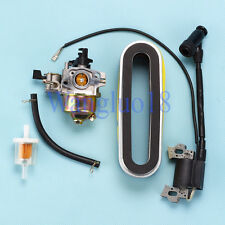 Carburetor For Honda HRC216K1 HRC216K2 Lawn Mower Ignition coil  Air Filter kit