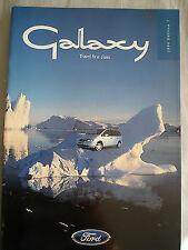 Ford Galaxy range brochure 1998 Ed 1