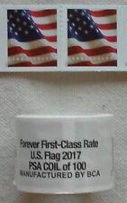 Mint ONE (1) Roll /Coil of 2017 US FLAG FOREVER USPS Postage Stamps  FV $50.00