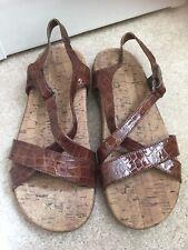 Orthoheel Brown Seatrek Sandal Size 7