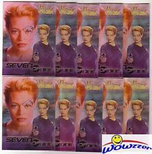 (20) Women of Star Trek Voyager Seven of Nine Promo Lot