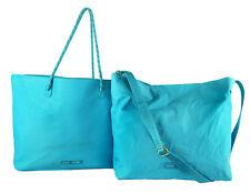 TOMMY HILFIGER BAG in BAG Sport Training Blue Leather Tote Shoulder Bag $118