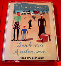 Barbara Anderson The House Guest 2-Tape Audio Book Peter Elliot New Zealand