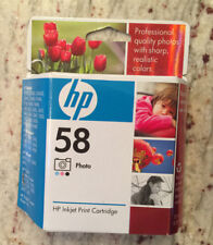 New Genuine HP 58 Photo Cartridge, C6658AN. Sealed in box, MAY 2009