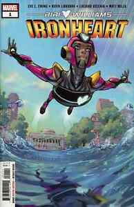 IRONHEART 1 AMY REEDER 1st PRINT COMIC NM SOLD OUT HOT BOOK HARD TO FIND NOW