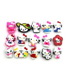 15 Pins Clips Hello Kitty Pour Chaussure Sabot Crocs
