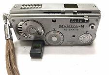 Vintage Mamiya-16 Mini Spy Camera with Zipper Case