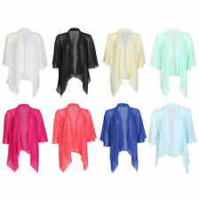 Unbranded Chiffon Casual Coats & Jackets for Women