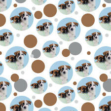 Jack Russell Terrier Puppies Dogs Gift Box Premium Gift Wrap Wrapping Paper Roll
