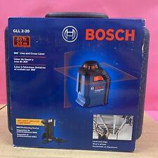 Bosch 65 Red Beam Self Leveling Cross Line 360 Laser Level Gll 2 20 Upc6713