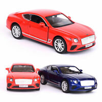 1:36 Bentley Continental GT Model Car Diecast Gift Toy Vehicle Kids Pull Back