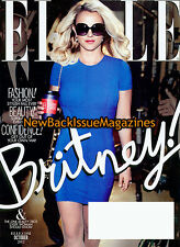 Elle 10/12,Britney Spears,Subscription Cover,October 2012,NEW