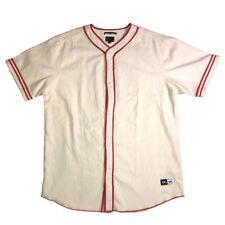 Yg x Rcva Pacsun Red Bandana Baseball Jersey Limited Edition New Large