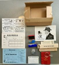 New listing Vintage 1961 Dick Tracy Crime Stopper Club Detective Kit