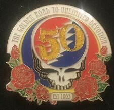 Grateful Dead-Gd 50 Golden Road Pin Limited Edition Sold Out