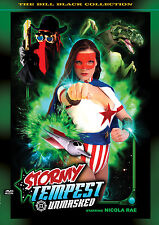 STORMY TEMPEST: UNMASKED! SUPERHEROINE LIVE ACTION DVD from AC'S FEMFORCE