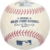 New York Yankees Game-Used Baseball from the 2016 MLB Season
