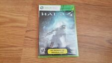 Halo 4 (Xbox 360, 2012) - NON RETAIL VERSION - NEW