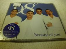98 Degrees - Because of You   -  Maxi CD - OVP