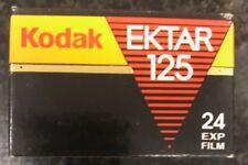 Kodak EKTAR 125 24 exp 35mm expired film fuji Lomo Agfa 3m scotch