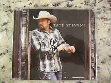 Tate Stevens Signed Autographed CD