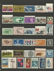 United States A Nice Selection of Mounted Mint Stamps (Selection 4)