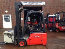 Linde E14 Electric Forklift + Now Sold Call For Current Stock List
