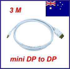 3M Thunderbolt Mini DP To DisplayPort Cable for Mac / NUC / Surface Pro