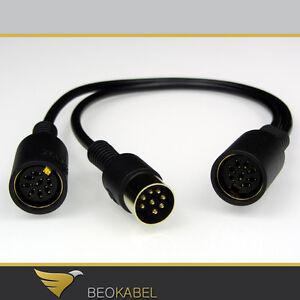 Powerlink Y Adapter Splitter aus 1 mach 2 für B&O BANG & OLUFSEN BeoSound BeoLab