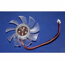 55mm 2 Pin PC VGA Card Heatsink Cooler Cooling Fan - UK seller