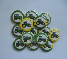 "15 Tractor 1.25"" pin back Buttons."