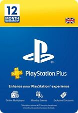 PlayStation Plus 12 Month (365 Days) PSN Code Subscription ✅ UK Trusted Seller