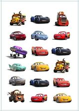 🚗1x Disney Cars 3 Temporary TATTOO Sheet. Lolly Loot Bag Party Supplies Game De