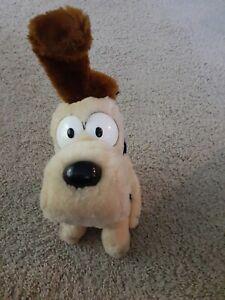 "VINTAGE Dakin 1983 Garfield ODIE THE DOG 10"" Plush STUFFED ANIMAL Toy"