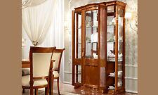 Exklusive VitrineTorriani Day Nussbaum Furnier Klassische Möbel aus Italien